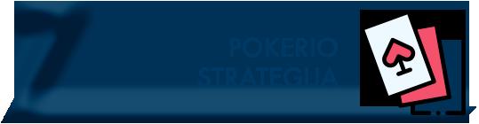 Pokerio strategija