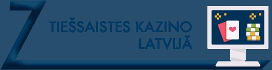 tiešsaistes kazino latvijā