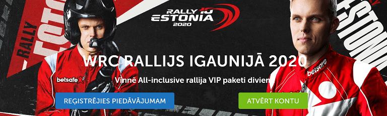 WRC rallija VIP biļetes